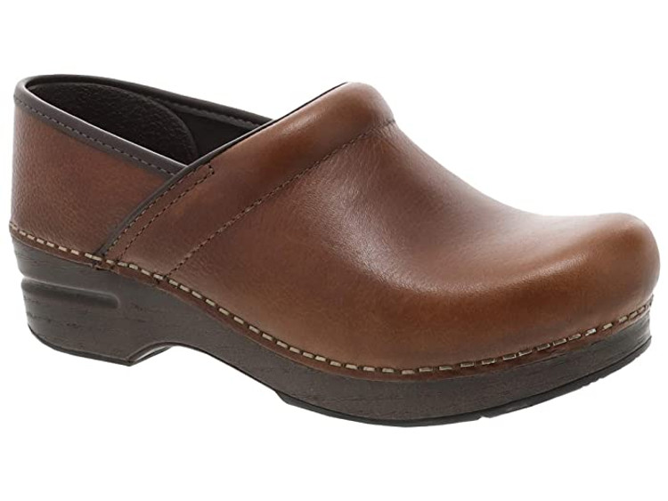 Dansko Professional Tan Tumbled