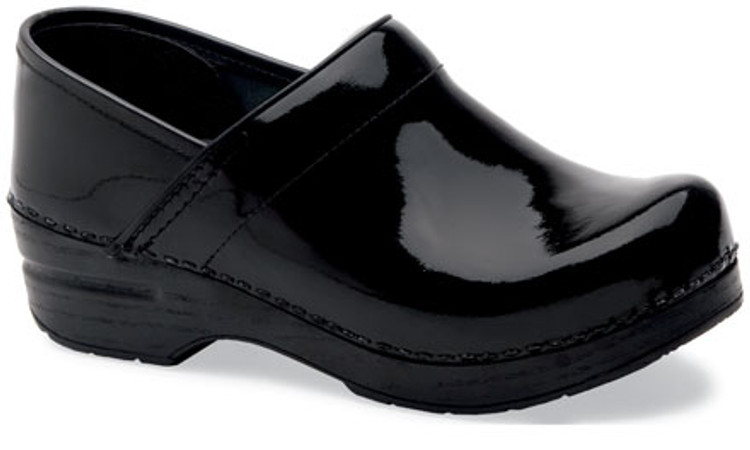 Dansko Professional Patent Black