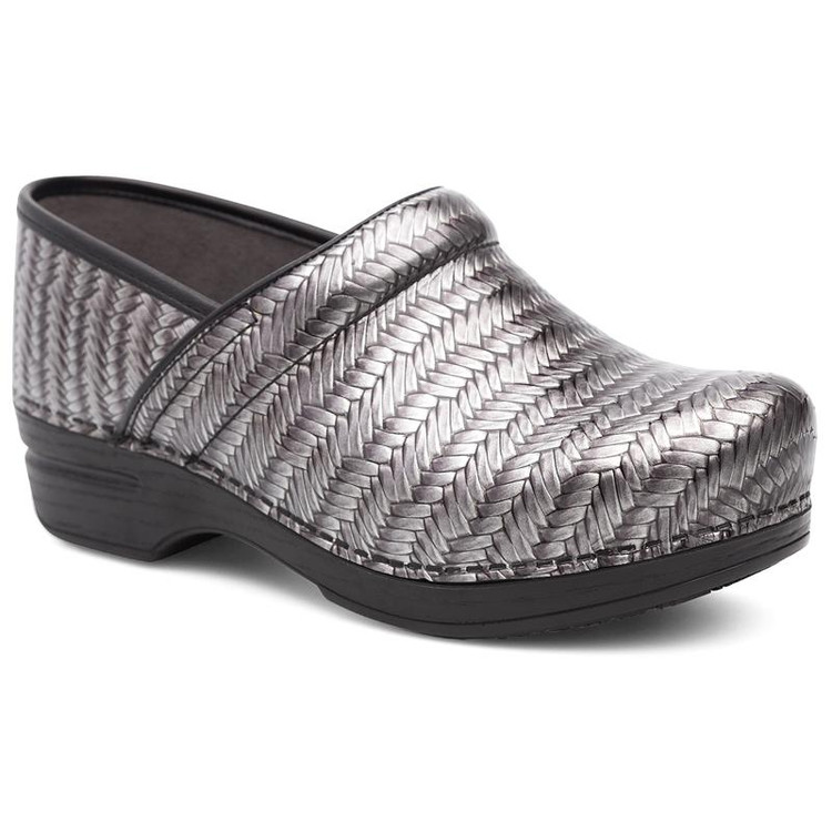 Dansko XP Patent Grey Herringbone