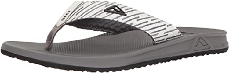 Reef Men's Phantom Print Grey Lines