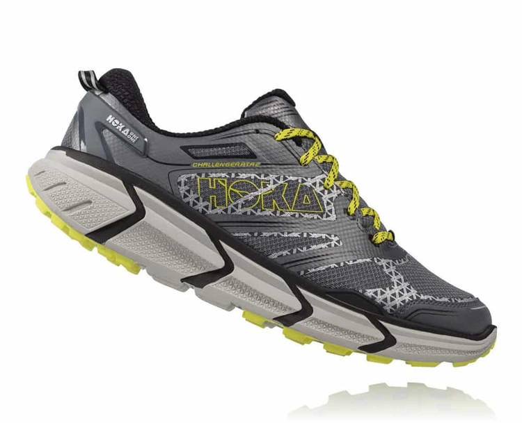 Hoka Men's Challenger ATR 2 Grey Citrus