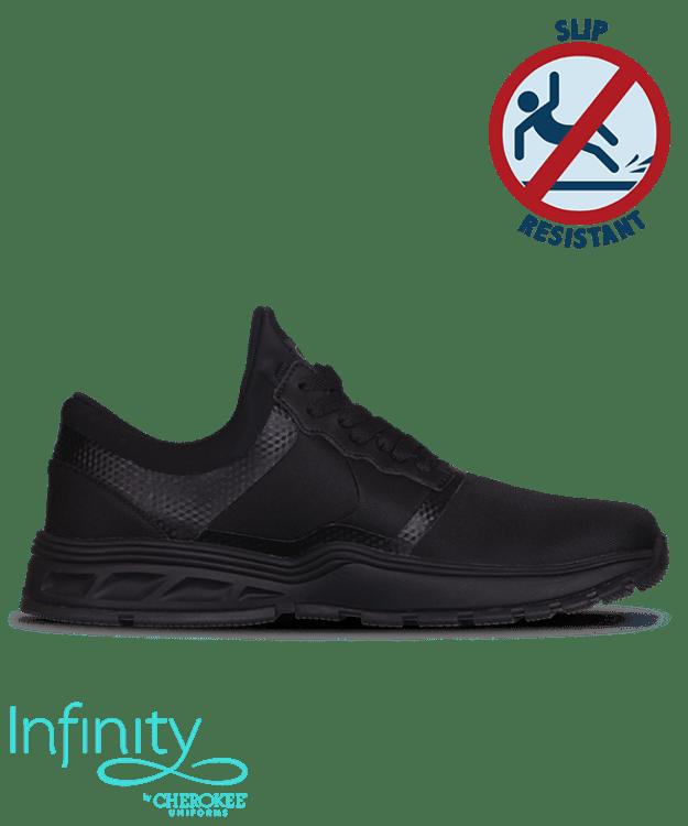 Infinity Men's Fly Black Black Slip Resistant