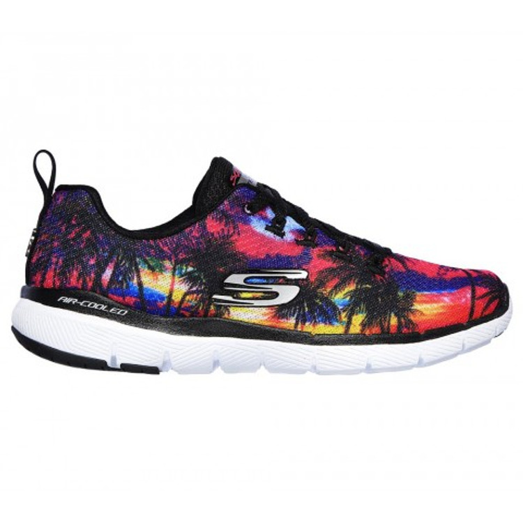 Skechers Women's Flex Appeal 3.0 Marvelous Sunset BKMT