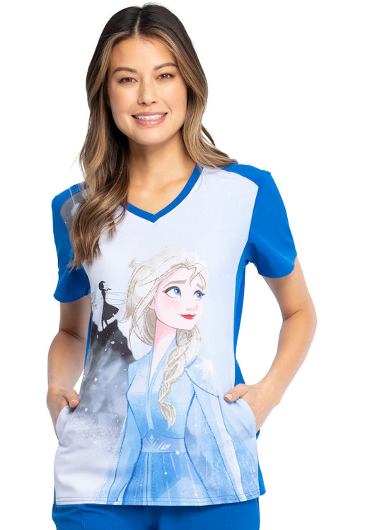 Frozen Mystic Journey Print Top