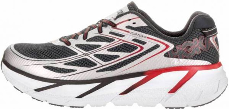 Hoka Men's Clifton 3 Silver Formula One