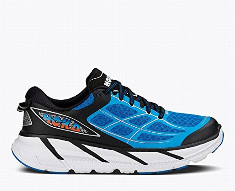 Hoka Men's Clifton 2 Directoire Blue Flame