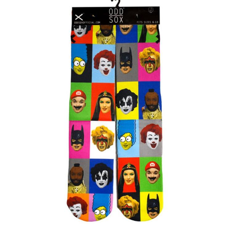 ODD Socks - Fun Novelty Socks Fits 6-13 Non-Compression