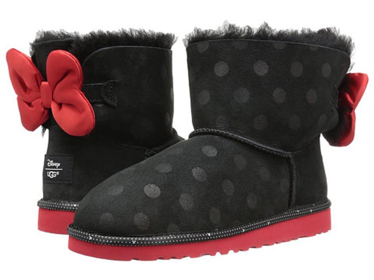 Ugg Kid's Disney Minnie Sweetie Bow Black