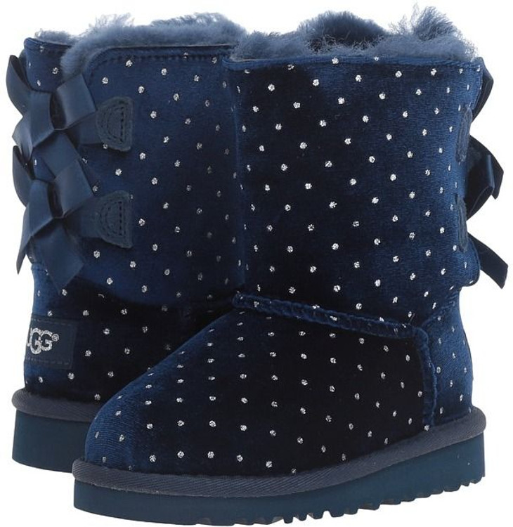 Ugg Kid's Bailey Bow Starlight Navy