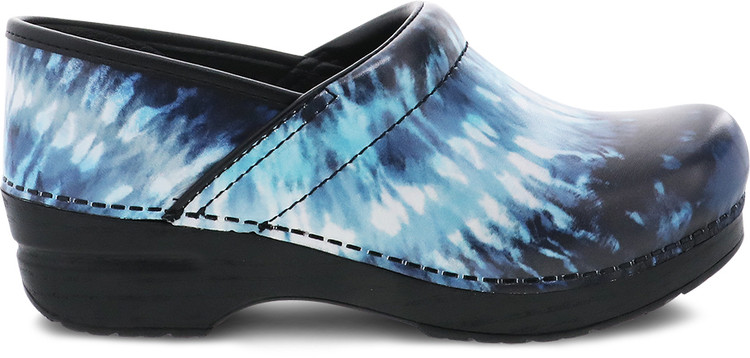 Dansko Professional Blue Tie Dye Leather