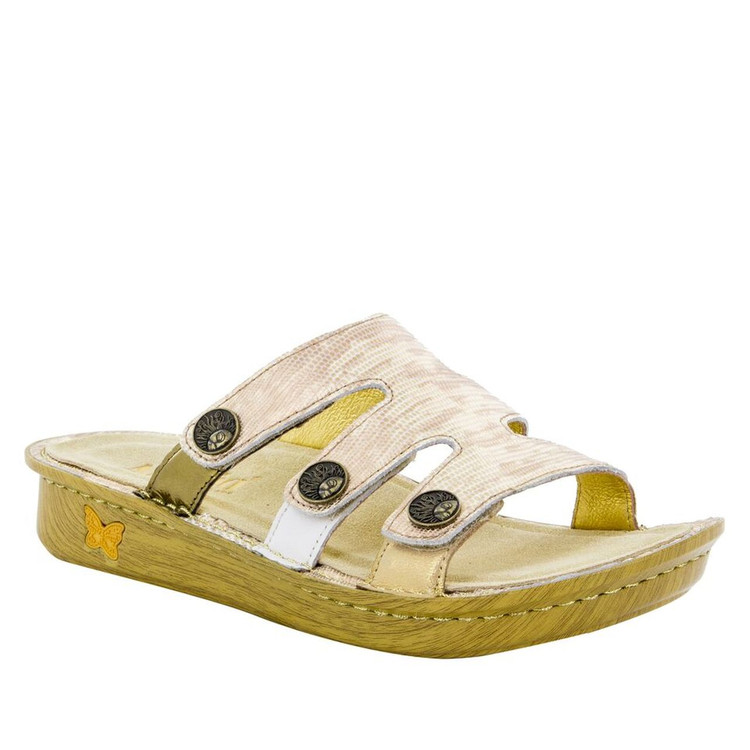 Alegria Venice Sandal Gold Your Own Way