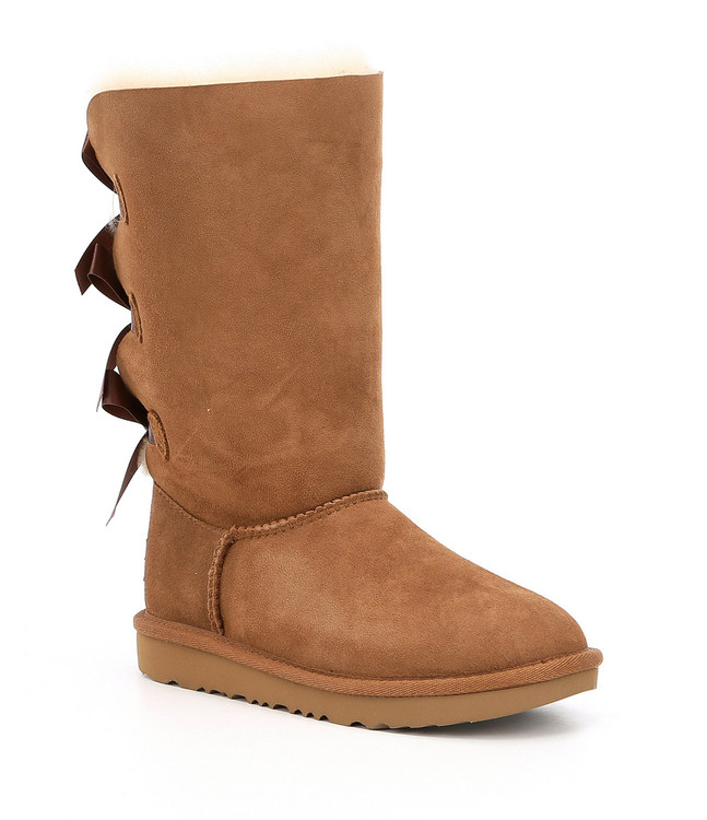 UGG Girls Bailey Bow Tall Sheepskin Boot