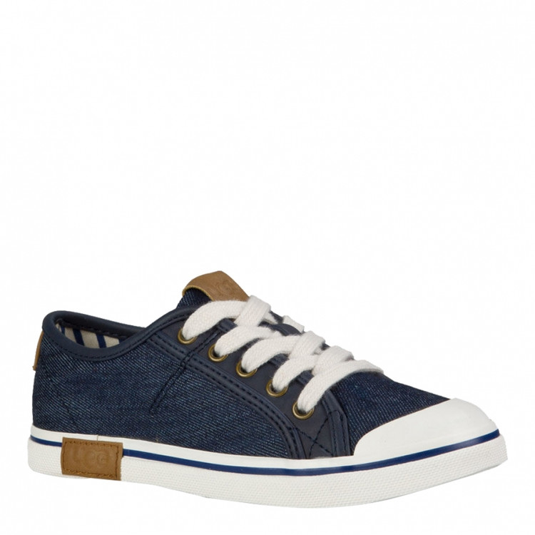 UGG Kids Broderick Low Top Sneaker Denim