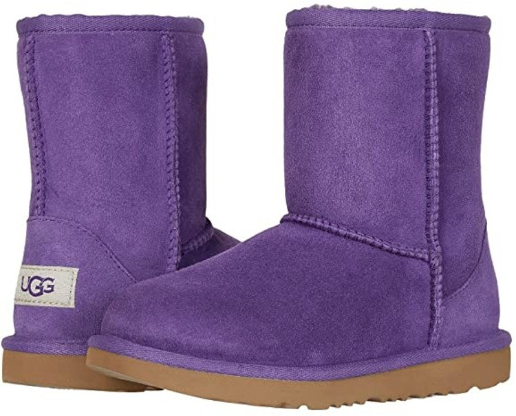 UGG Girls Classic Sheepskin Boot Berry