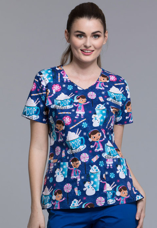 Women's Disney Doc McStuffins Fashion Top TF614 DCACC