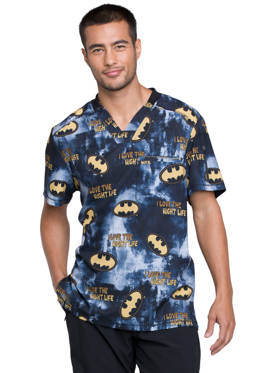 Tooniforms Men's Batman Top TF730 DMKL