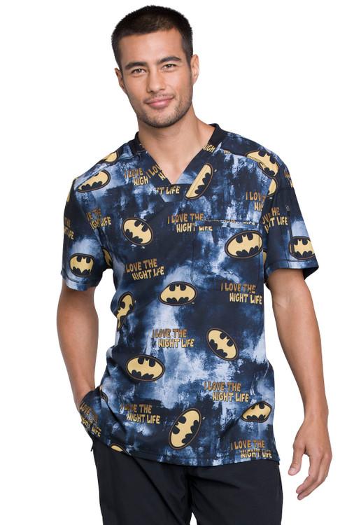 Tooniforms Men's Batman Top TF730 DMKL