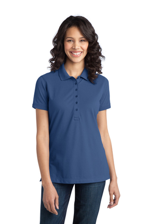 Port Authority Women's Moonlight Blue Polo L555