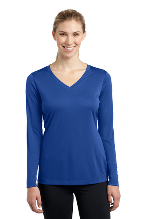 Sport-Tek Competitive Long Sleeve Tee Women's True Royal LST350LS