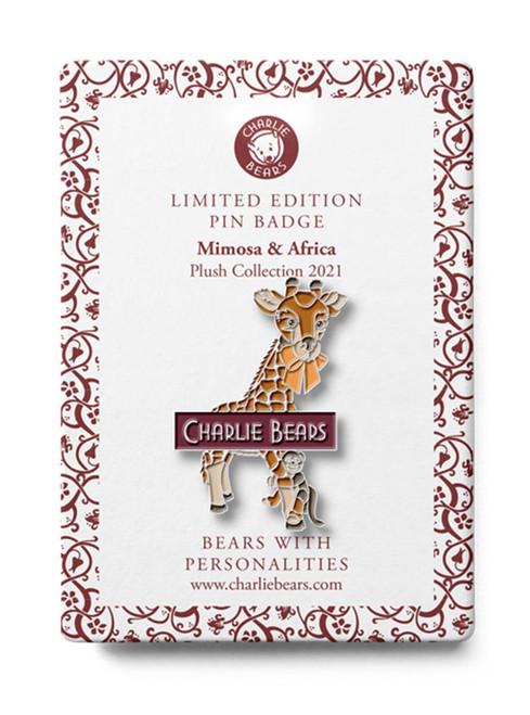 Pin Badge Mimosa Africa