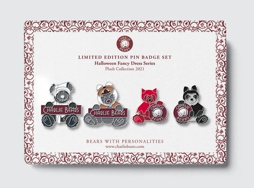 Pin Badge Halloween Set