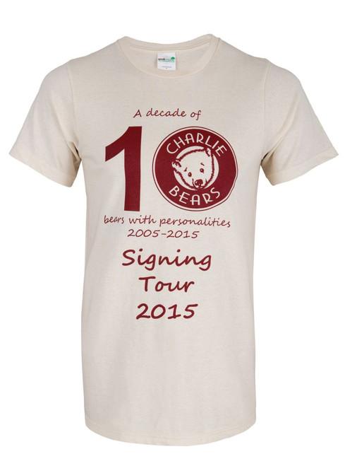 T-Shirt - 10th Anniversary Signing Tour ~ XL