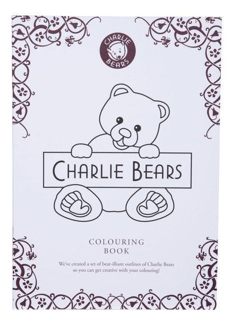 Charlie Bears Colouring Book