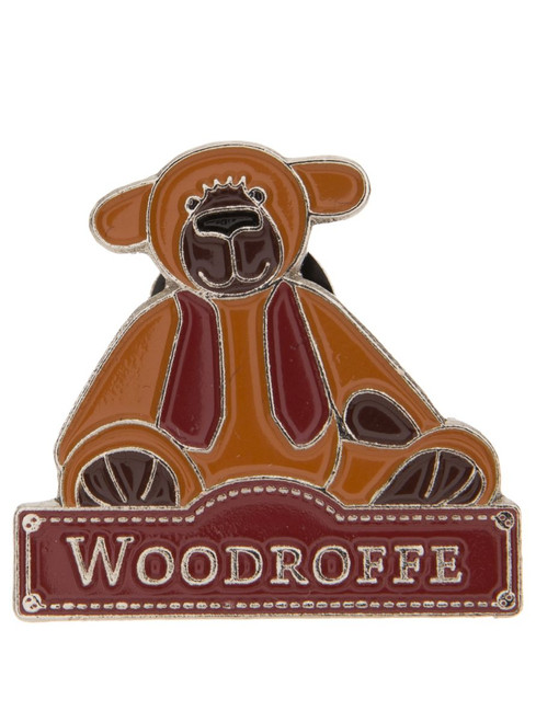 Alice's Bear Shop - Woodroffe pin badge