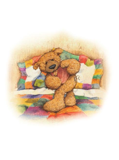 Alice's Bear Shop Art Print - Woodroffe Growls Again