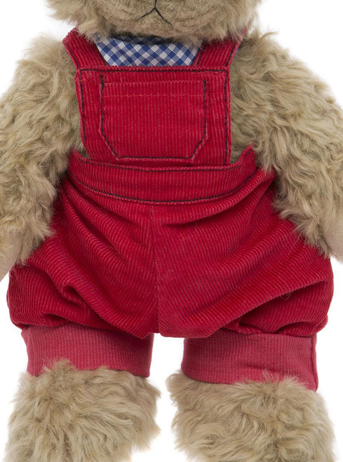 Cobby Dungaree Red
