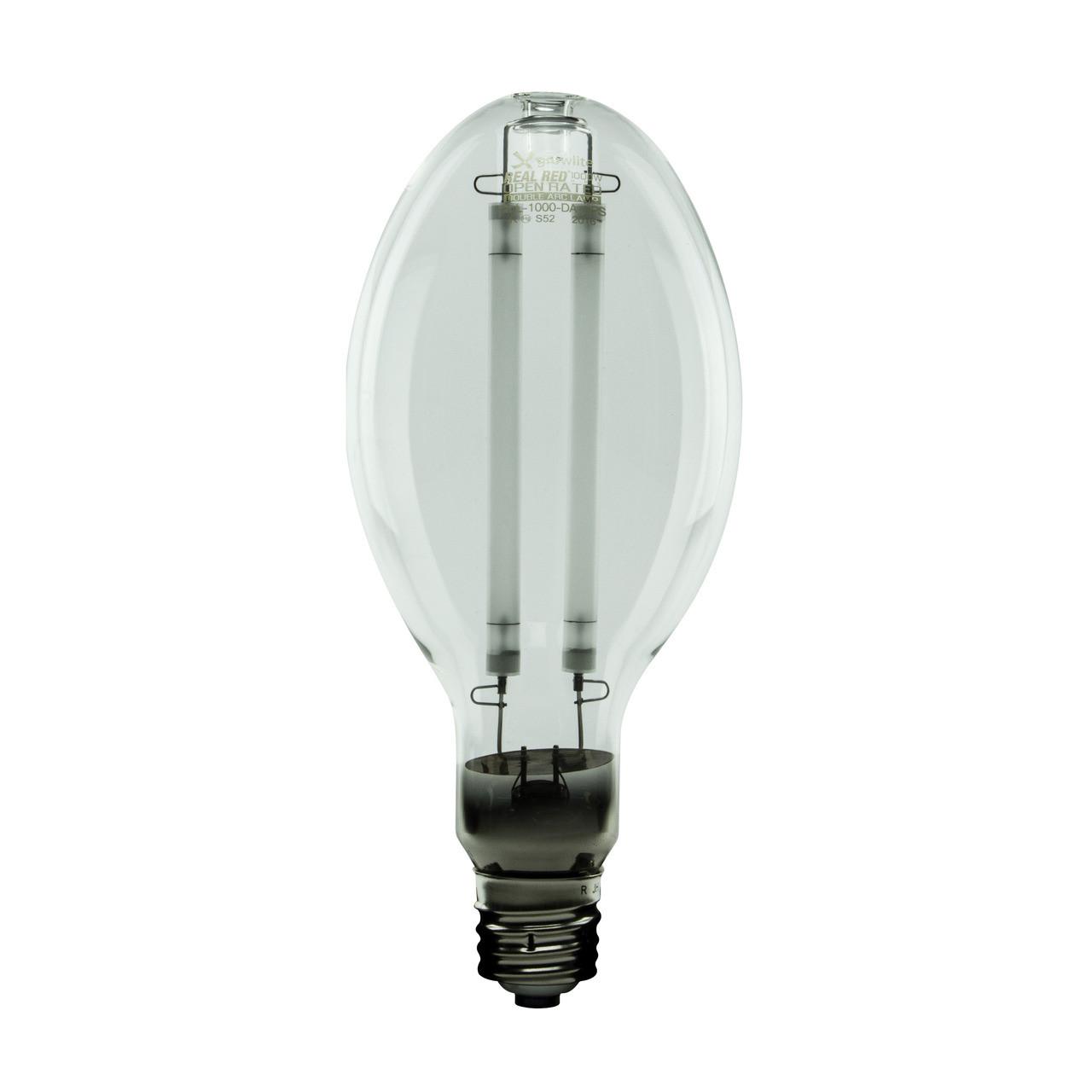 Real Red Mogul Base High Pressure Sodium 1000w Double Arc Growlite Fluorescent Light Bulb Diagram Lamp