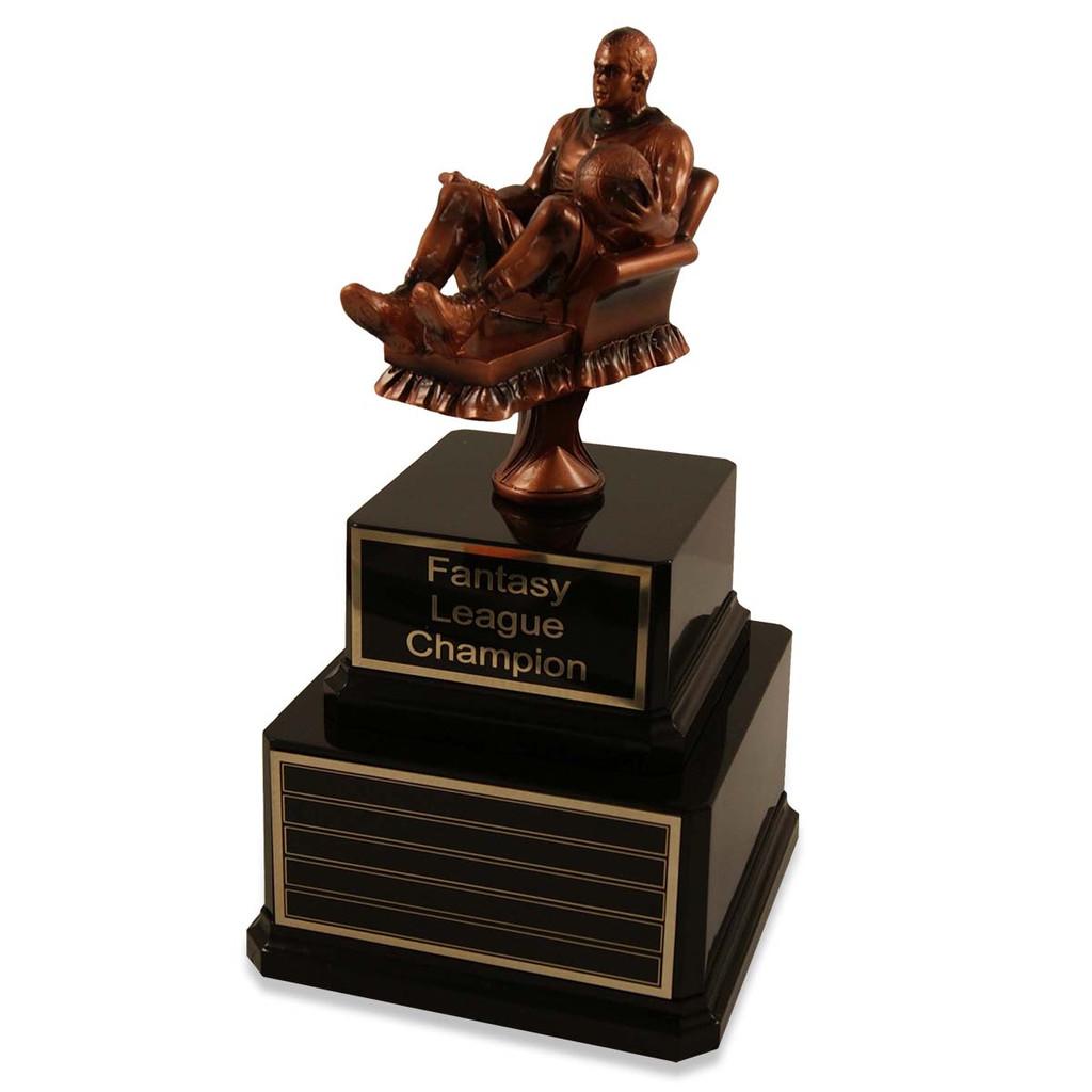 Perpetual Fantasy Basketball Man Trophy