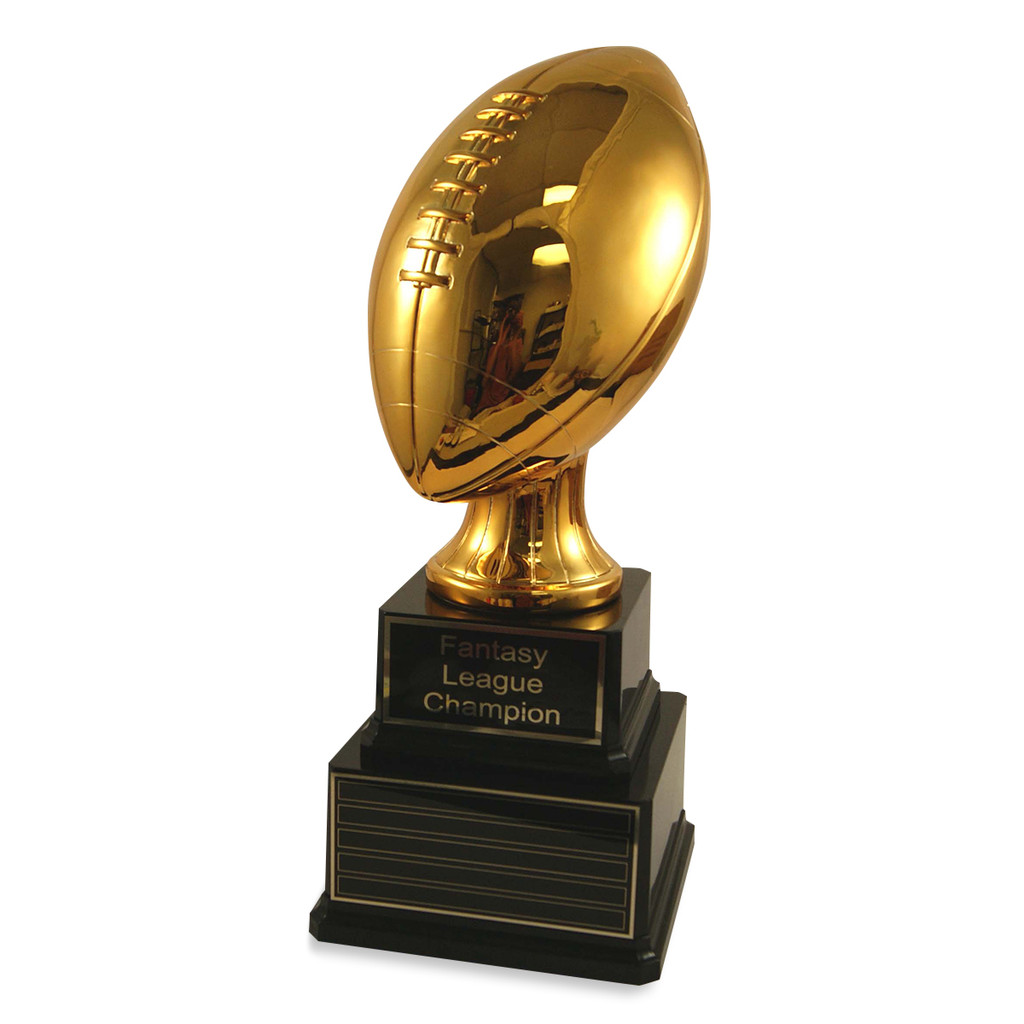 Perpetual Jumbo Gold Football Trophy