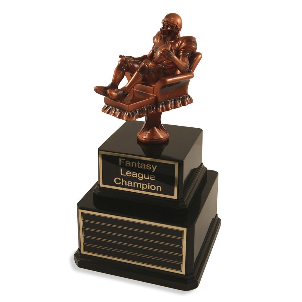 Perpetual Fantasy Football Man Trophy