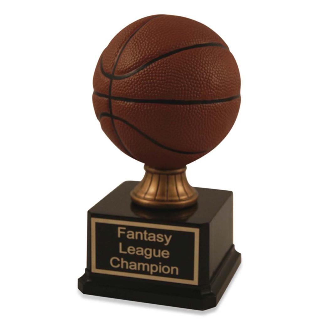 Mini Basketball Trophy