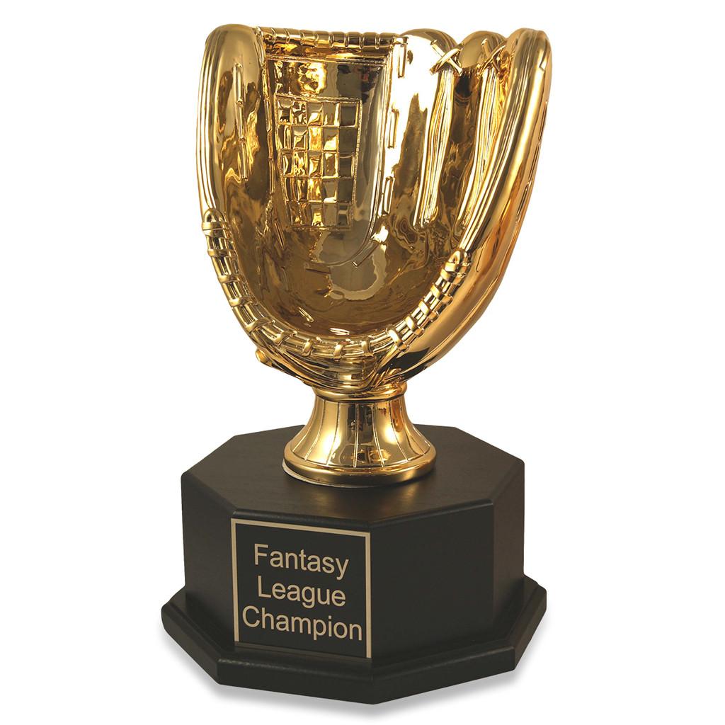 Fantasy Baseball Gold Glove Triumph Trophy