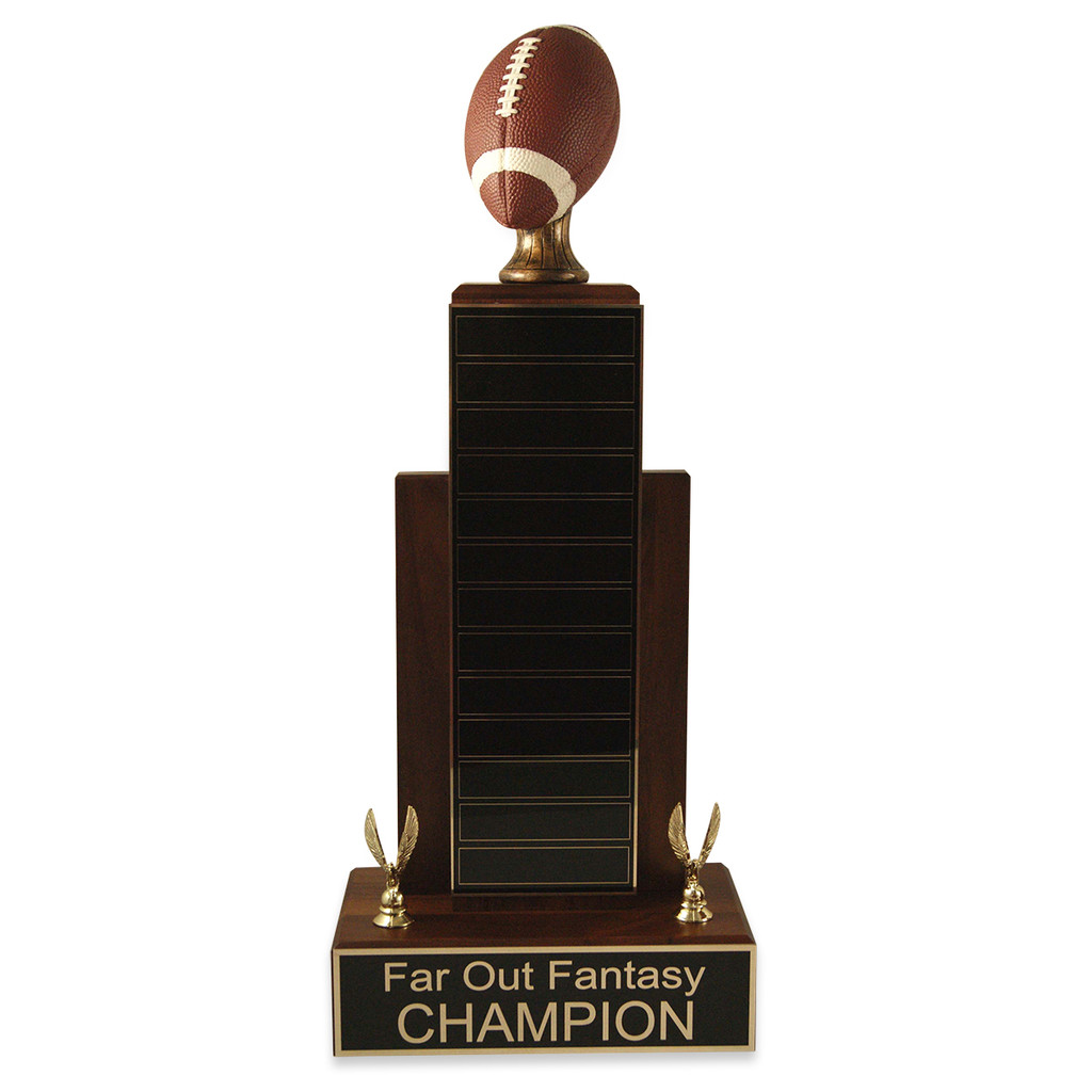 Large MVP Football Trophy