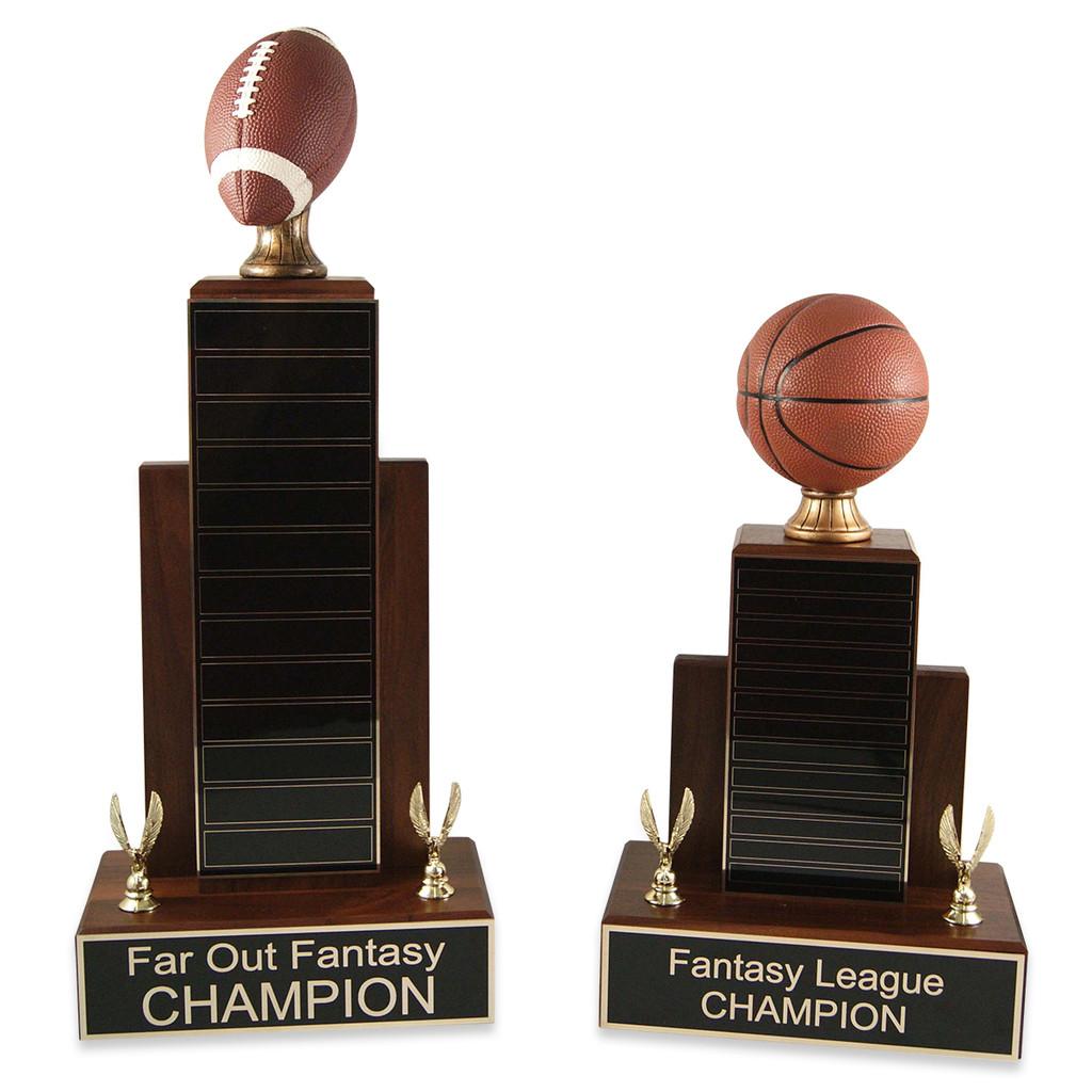 MVP Basketball Trophy