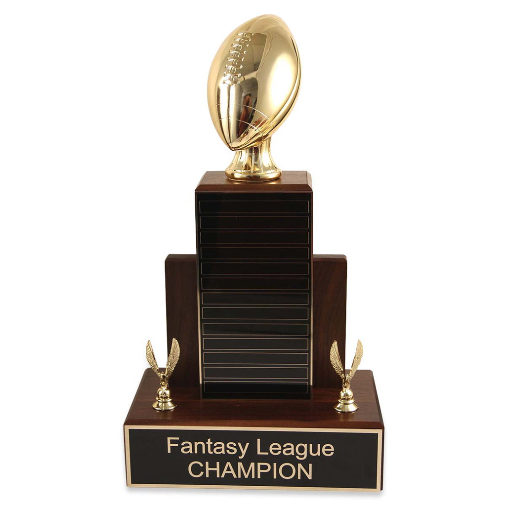 Small MVP Gold Football Trophy