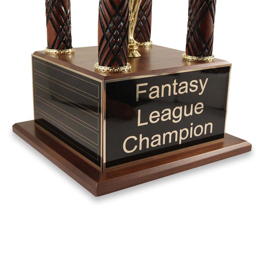 Baseball Glove Prestige Fantasy Baseball Trophy