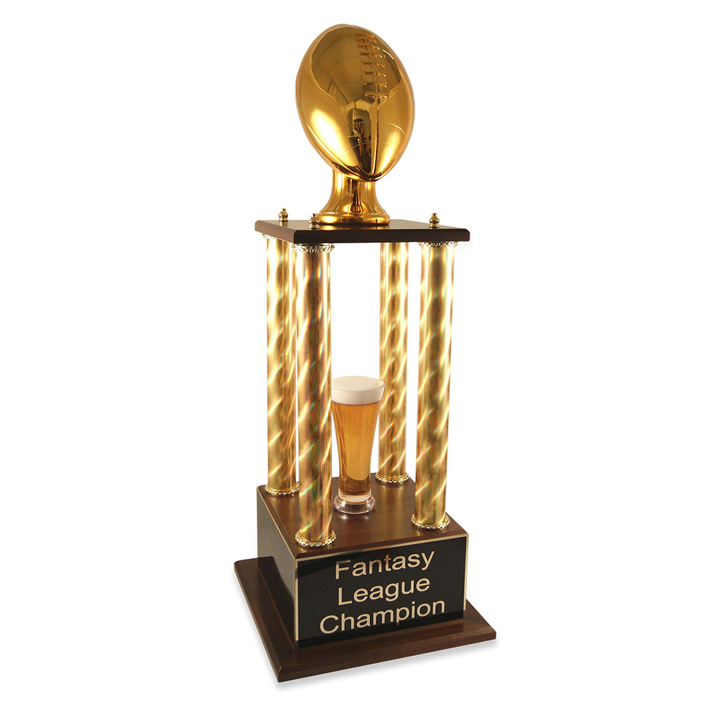 Golden Football Prestige Fantasy Football Trophy