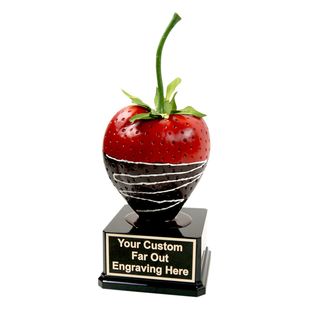 Far Out Giant Chocolate Strawberry Trophy