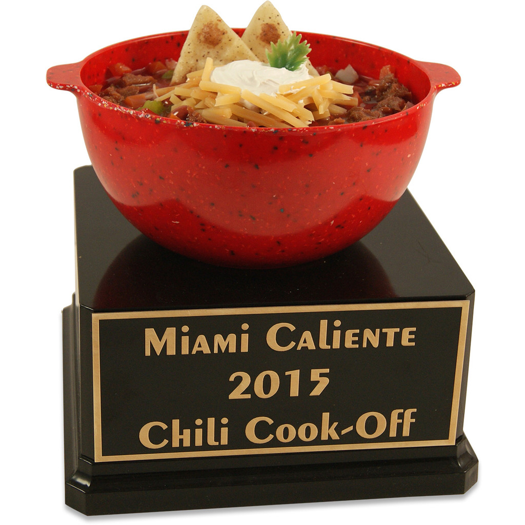 Large Bowl of Chili Trophy