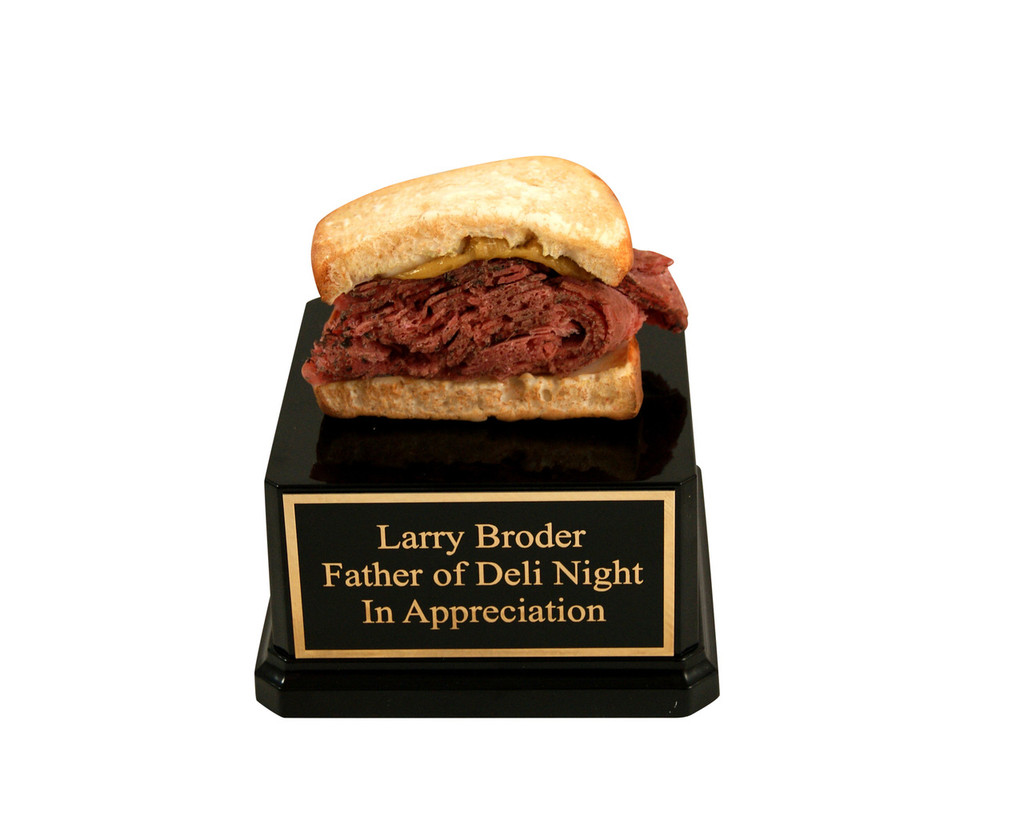 Pastrami Sandwich Trophy