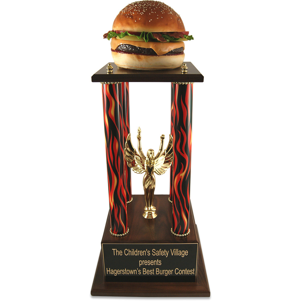 Jumbo Far Out Burger Trophy