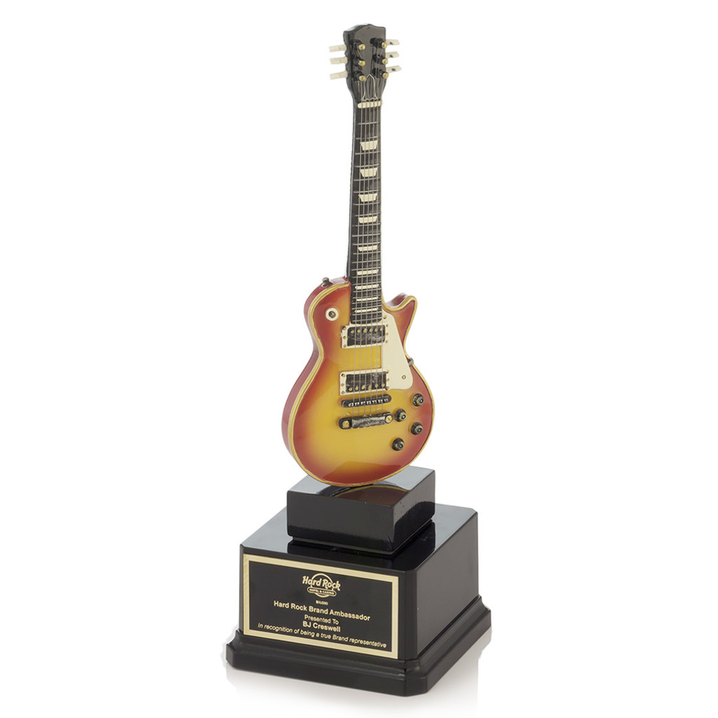Les Paul Sunburst Guitar Trophy