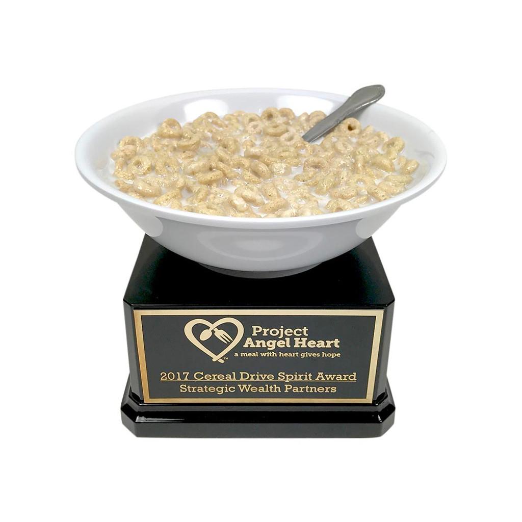 Cereal Bowl Trophy