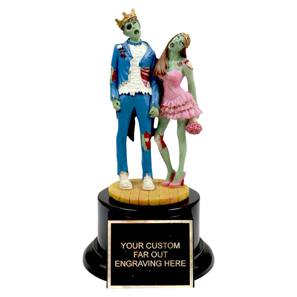 Zombie Couples Costume Award