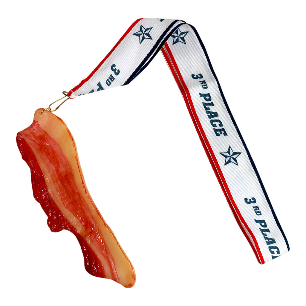 Bacon Medal with 3rd Place Ribbon