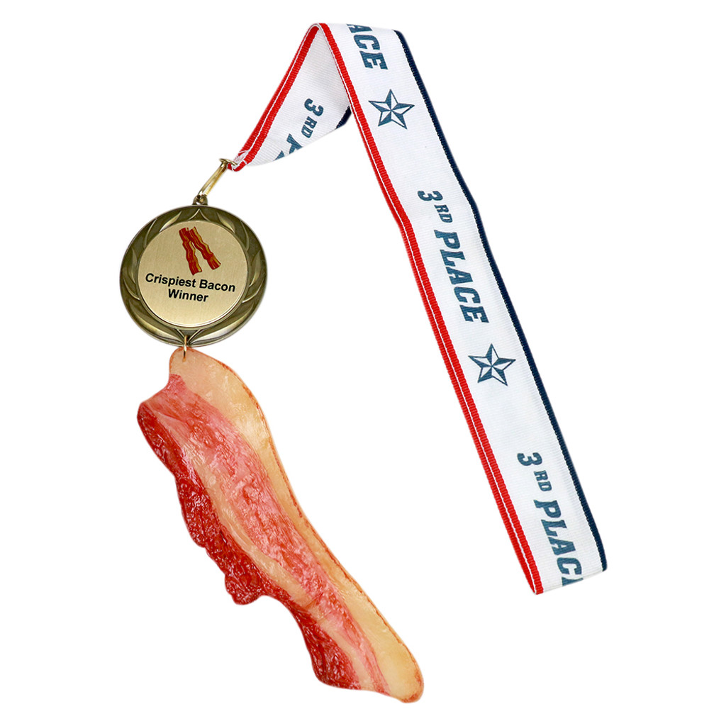 Bacon Medal with Personalized Engraving